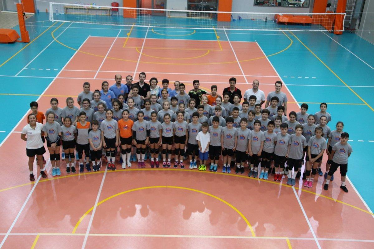ES Voleybol Şenliği Kovan Spor Kültürü Merkezi'nde Gerçekleştirildi