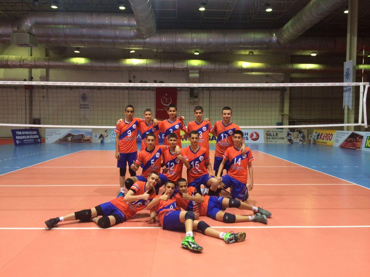 Midi Erkeklerimiz Türkiye Şampiyonasında İlk 16'da