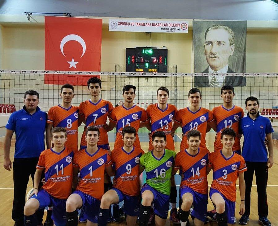Genç Erkeklerimiz Türkiye 13.'sü Oldu