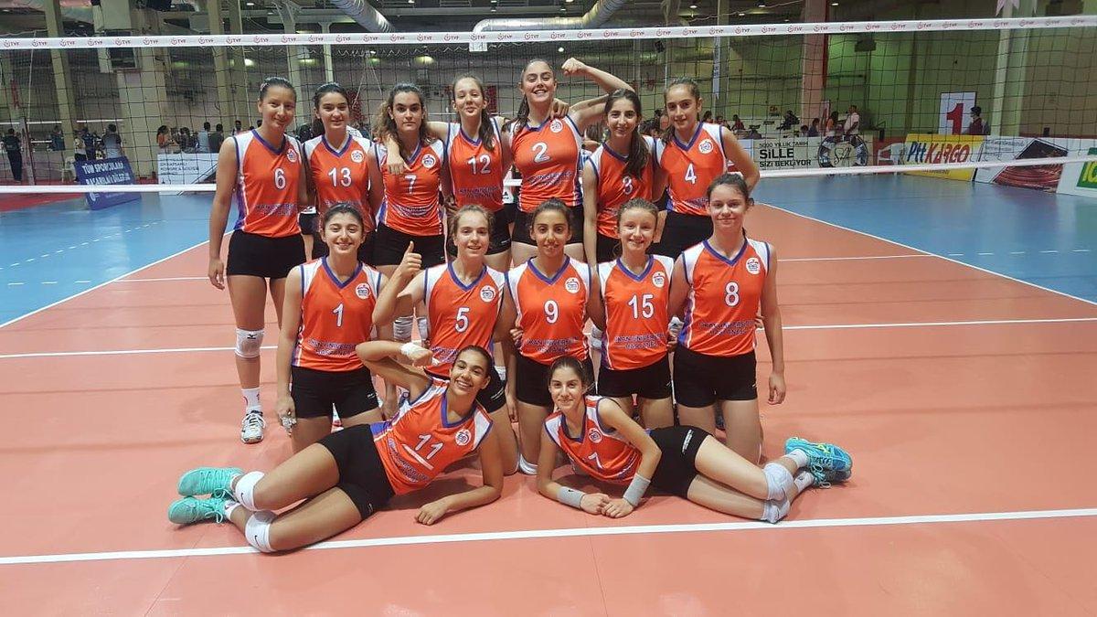 Midi Kızlarımız Türkiye Şampiyonasını 9. Bitirdi