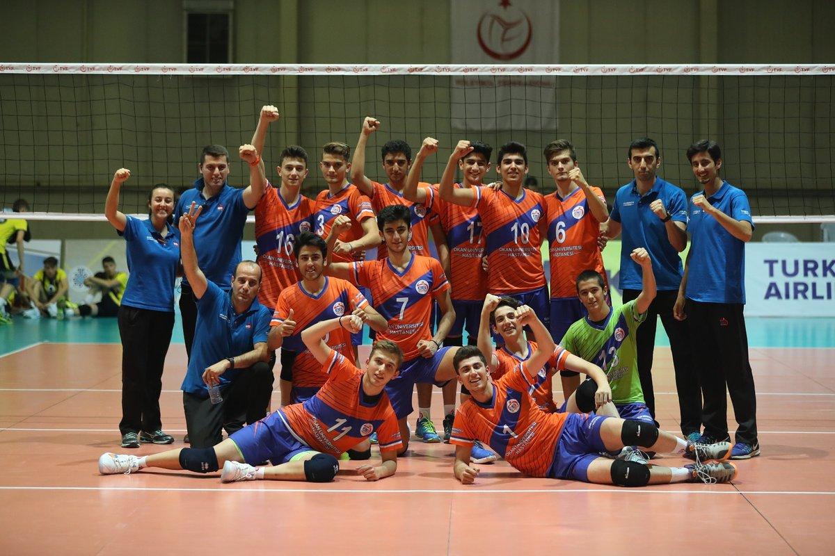 Küçük Erkeklerimiz Türkiye Şampiyonasını 4. Bitirdi