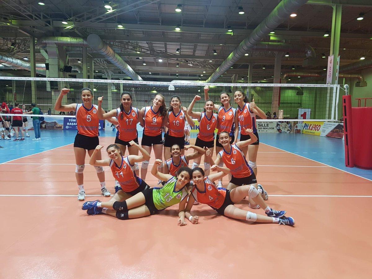 Küçük Kızlarımız Türkiye Şampiyonasını 7. Bitirdi