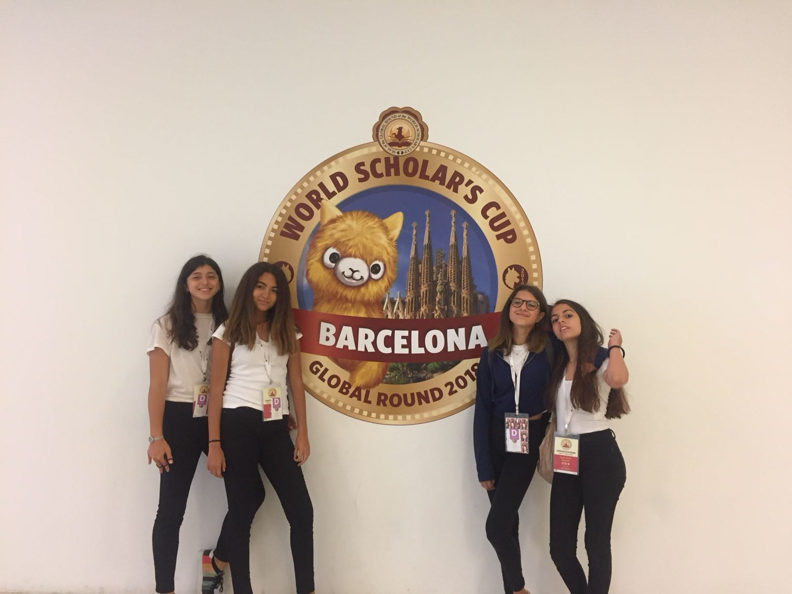 Küçük Kız Takımı sporcumuz Bilge Tercan'ın World Scholar's Cup Başarısı